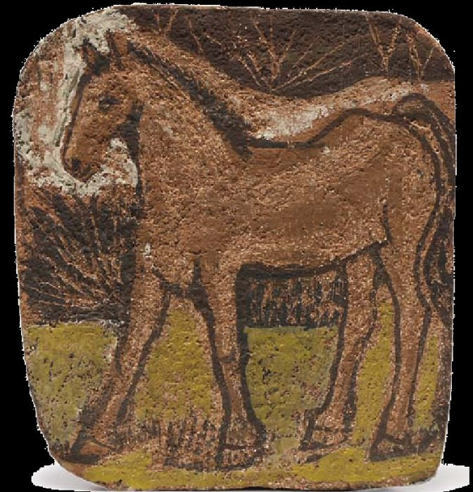 1906 Cheval. Pablo Picasso (1881-1973) Period of creation: 1889-1907