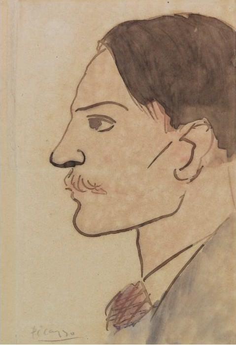 1903 Portrait de lartiste. Пабло Пикассо (1881-1973) Период: 1889-1907