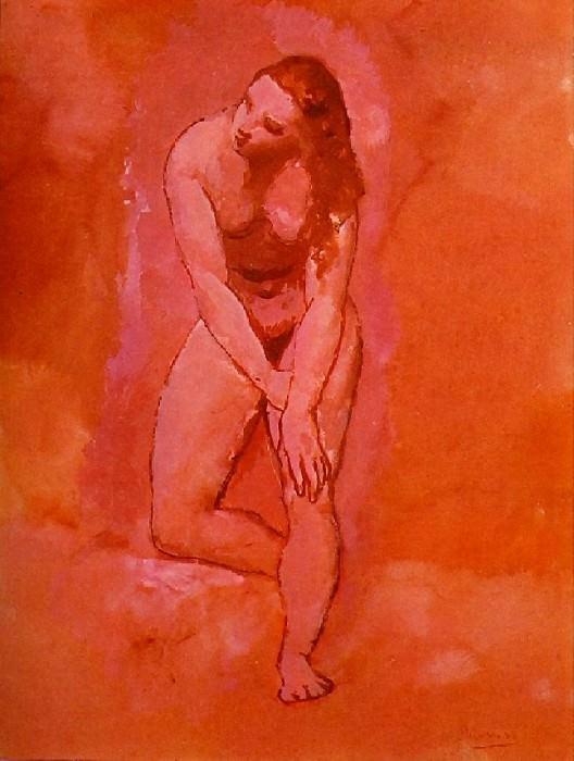 1906 Nu, Вtude pour le harem. Pablo Picasso (1881-1973) Period of creation: 1889-1907