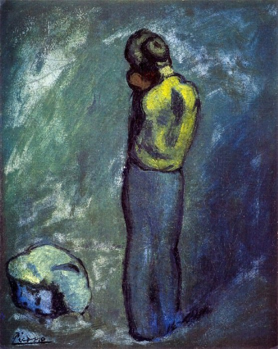 1902 MКre et enfant. Pablo Picasso (1881-1973) Period of creation: 1889-1907