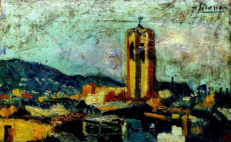 1903 Paysage catalan. Пабло Пикассо (1881-1973) Период: 1889-1907
