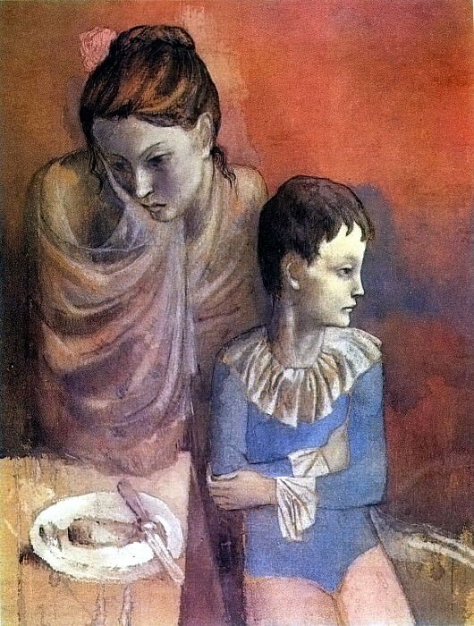 1905 MКre et enfant (Baladins). Pablo Picasso (1881-1973) Period of creation: 1889-1907