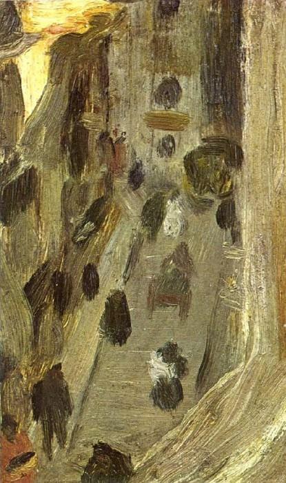 1900 Riera de Saint Jean vu dune fenИtre. Pablo Picasso (1881-1973) Period of creation: 1889-1907