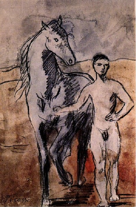 1906 Meneur de cheval nu2. Pablo Picasso (1881-1973) Period of creation: 1889-1907