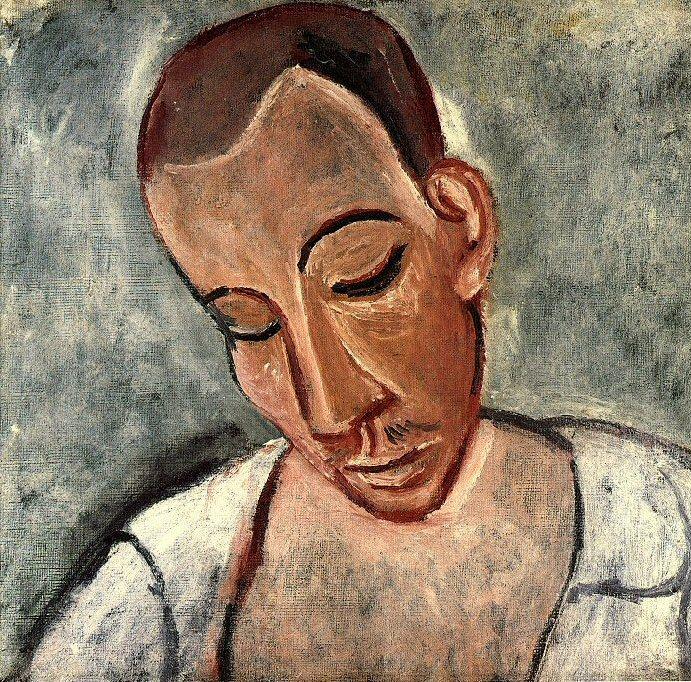 1907 Buste de marin. Pablo Picasso (1881-1973) Period of creation: 1889-1907