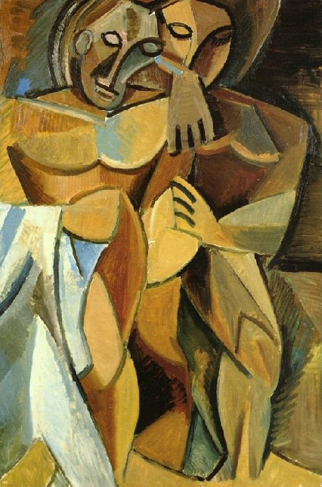 1907 L AmitiВ. Pablo Picasso (1881-1973) Period of creation: 1889-1907
