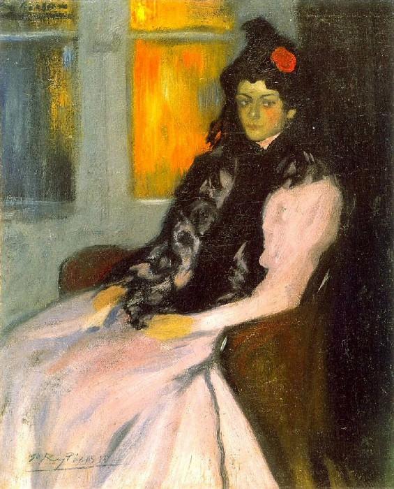 1899 Lola Picasso, soeur de lartiste. Pablo Picasso (1881-1973) Period of creation: 1889-1907
