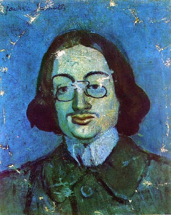 1901 Portrait de Jaime SabartВs. Pablo Picasso (1881-1973) Period of creation: 1889-1907