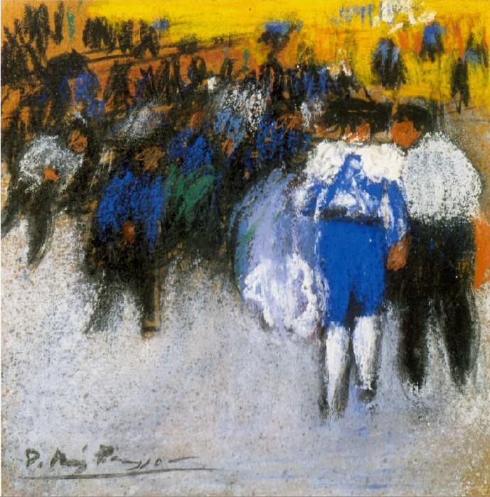 1900 Courses de taureaux2. Pablo Picasso (1881-1973) Period of creation: 1889-1907