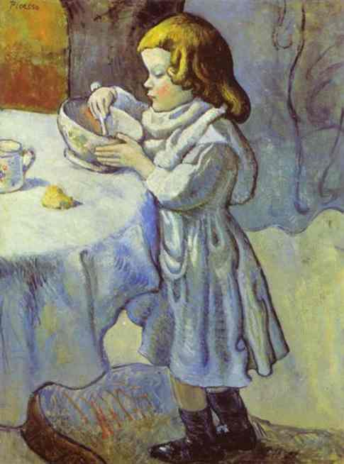 1901 Le gourmet. Pablo Picasso (1881-1973) Period of creation: 1889-1907