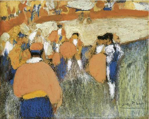 1900 Dans larКne. Pablo Picasso (1881-1973) Period of creation: 1889-1907