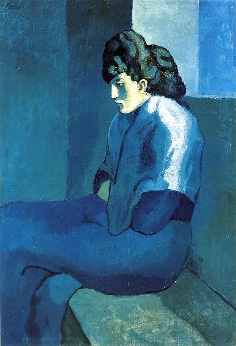 1901 Femme de Saint-Lazare par clair de lune. Pablo Picasso (1881-1973) Period of creation: 1889-1907