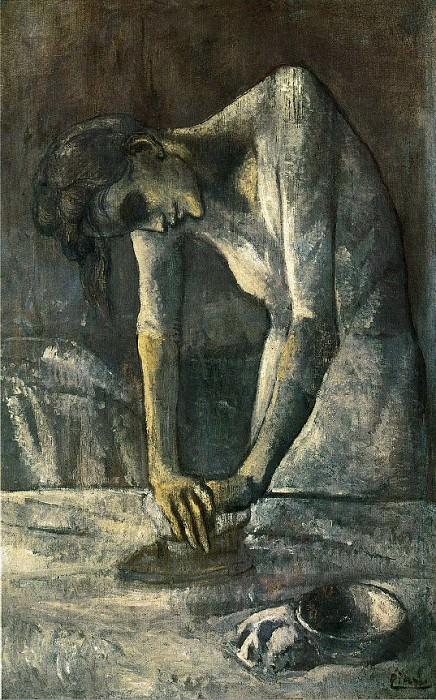 1904 La repasseuse. Pablo Picasso (1881-1973) Period of creation: 1889-1907