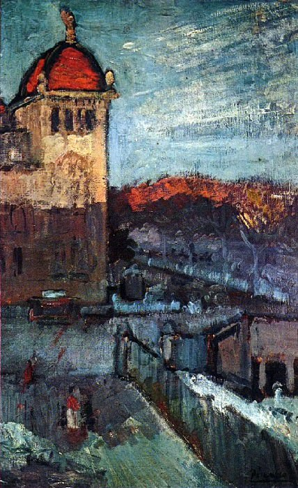 1903 Le Palais des Arts Е Barcelone. Pablo Picasso (1881-1973) Period of creation: 1889-1907