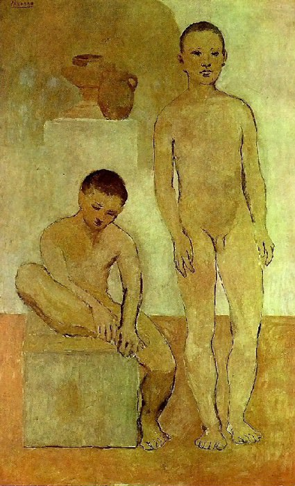 1906 Les adolescents. Pablo Picasso (1881-1973) Period of creation: 1889-1907