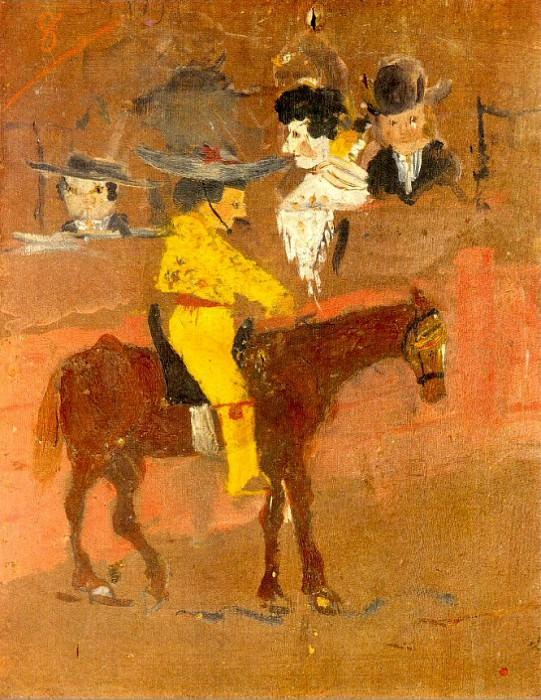 1889 Le picador. Pablo Picasso (1881-1973) Period of creation: 1889-1907