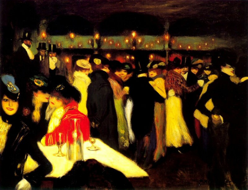1900 Moulin de la galette. Пабло Пикассо (1881-1973) Период: 1889-1907