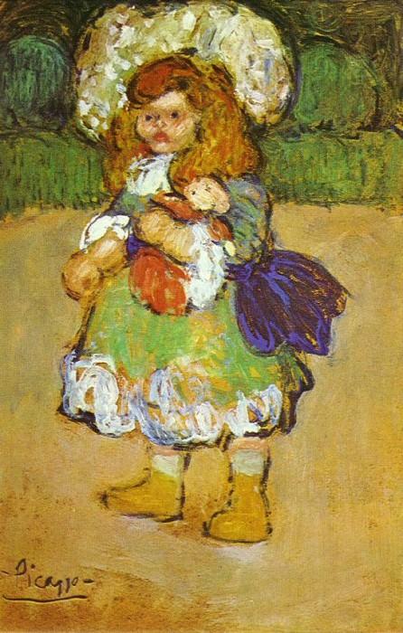 1901 Le Roi Soleil. Pablo Picasso (1881-1973) Period of creation: 1889-1907
