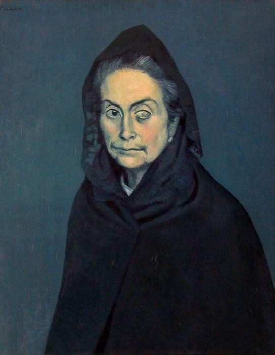 1904 La CВlestine. JPG. Pablo Picasso (1881-1973) Period of creation: 1889-1907