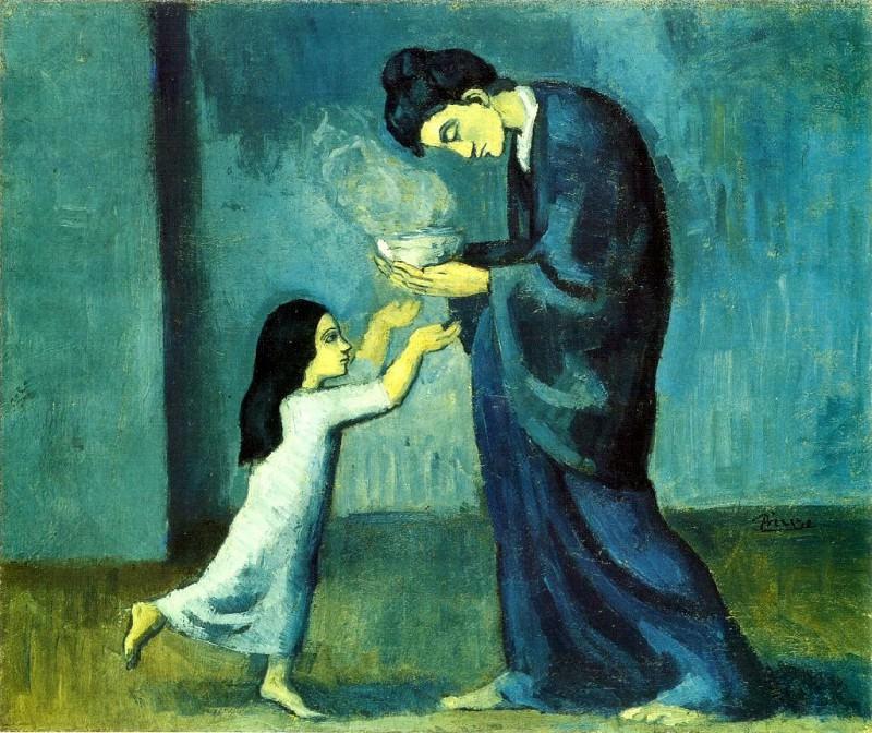 1902 La soupe. Пабло Пикассо (1881-1973) Период: 1889-1907