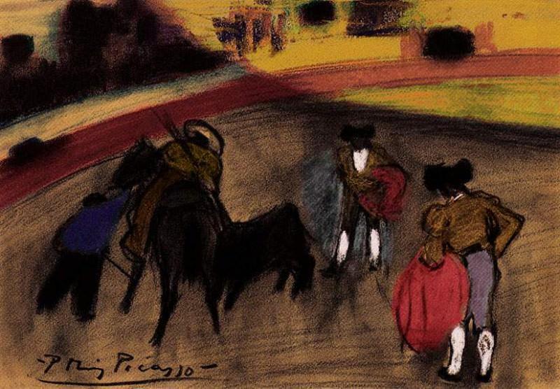 1900 Le picador. JPG. Пабло Пикассо (1881-1973) Период: 1889-1907