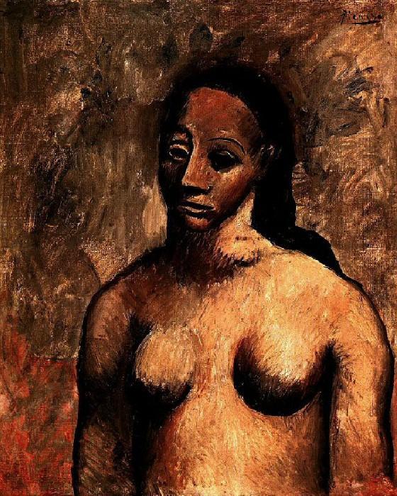 1906 Buste de femme. Пабло Пикассо (1881-1973) Период: 1889-1907
