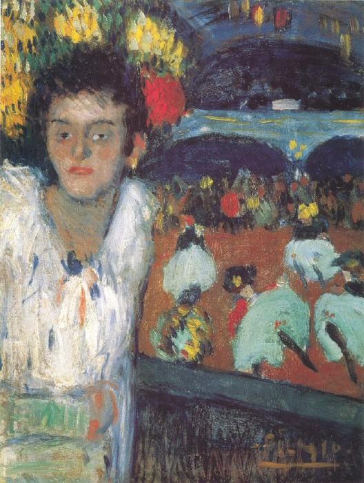 1901 Au Moulin Rouge (Le Divan Japonais). Pablo Picasso (1881-1973) Period of creation: 1889-1907