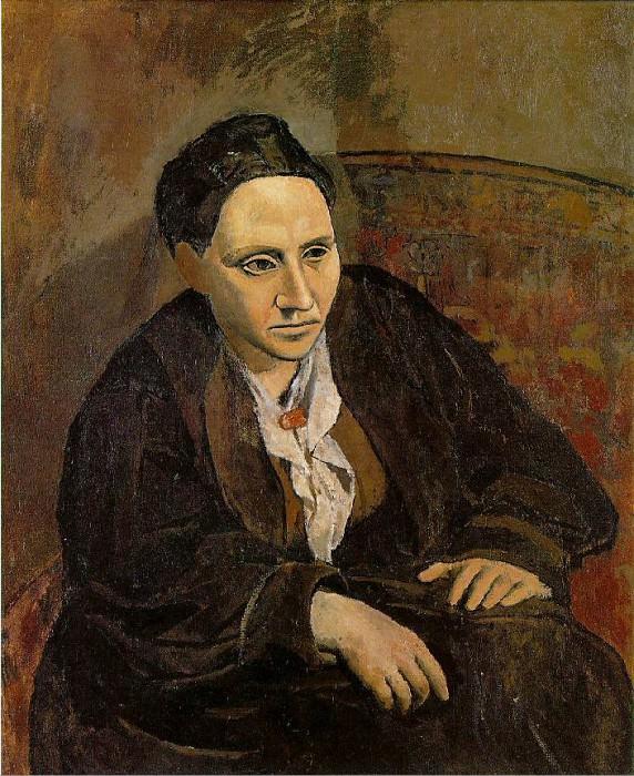 1906 Portrait de Gertrude Stein. Pablo Picasso (1881-1973) Period of creation: 1889-1907