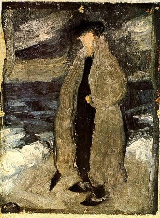 1899 Don JosВ sur le rivage. Pablo Picasso (1881-1973) Period of creation: 1889-1907