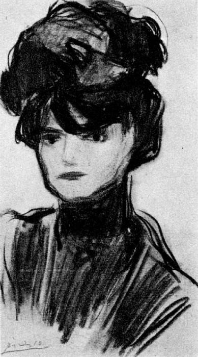 1901 TИte de Blanche. Pablo Picasso (1881-1973) Period of creation: 1889-1907