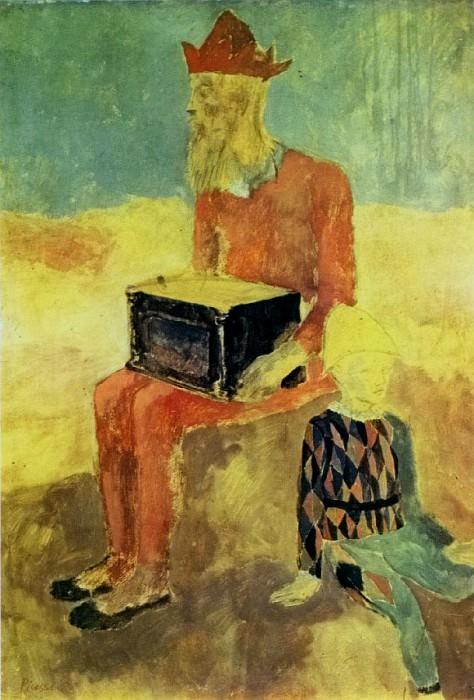 1905 Le Bouffon. Pablo Picasso (1881-1973) Period of creation: 1889-1907