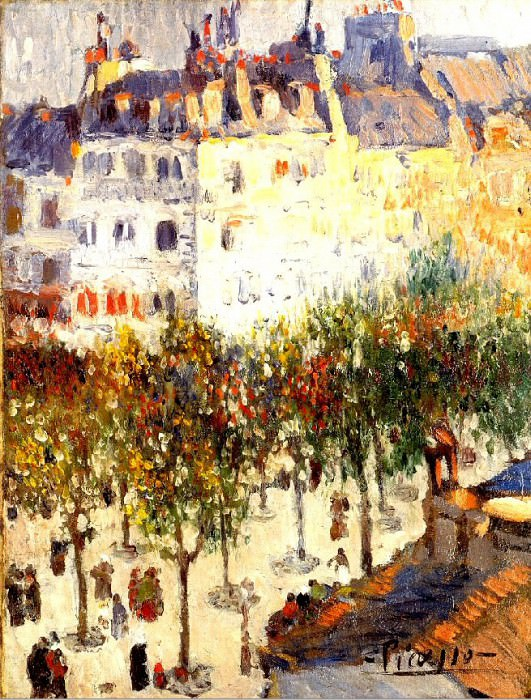 1901 Boulevard de Clichy2. Пабло Пикассо (1881-1973) Период: 1889-1907