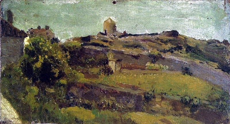 1895 Paysage. Pablo Picasso (1881-1973) Period of creation: 1889-1907