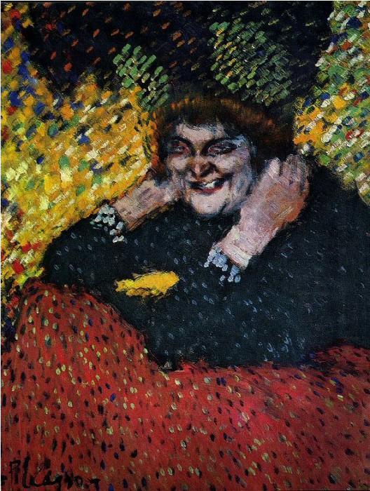 1901 Femme aux bijoux. Pablo Picasso (1881-1973) Period of creation: 1889-1907