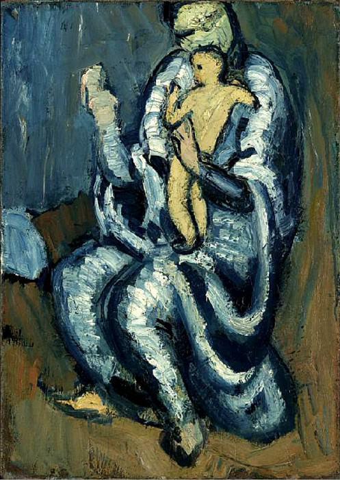 1901 MaternitВ. Пабло Пикассо (1881-1973) Период: 1889-1907
