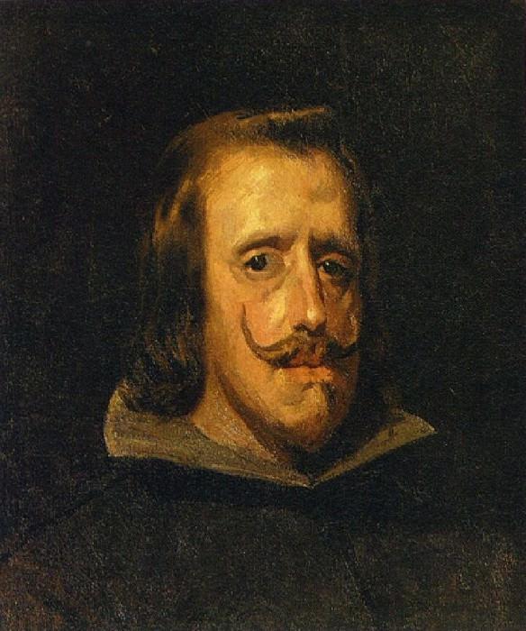 1897 Portrait de Philippe IV (Velаzquez). Пабло Пикассо (1881-1973) Период: 1889-1907