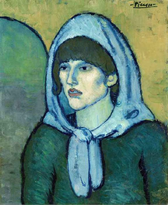 1902 Portrait de Germaine. Pablo Picasso (1881-1973) Period of creation: 1889-1907