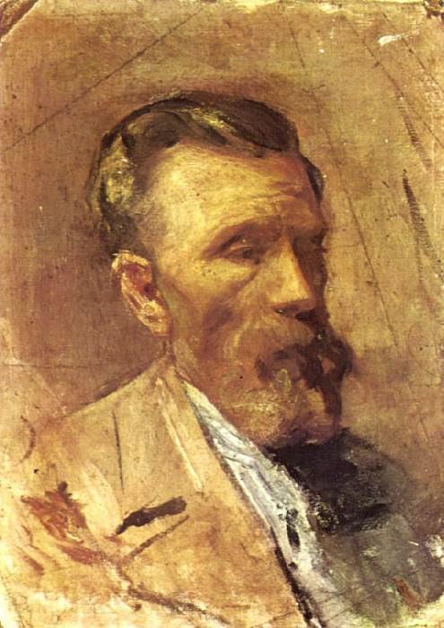 1896 Portrait du pКre de lartiste. Pablo Picasso (1881-1973) Period of creation: 1889-1907