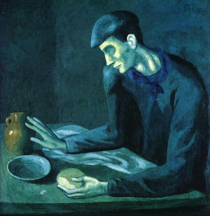 1903 Repas de laveugle. Pablo Picasso (1881-1973) Period of creation: 1889-1907