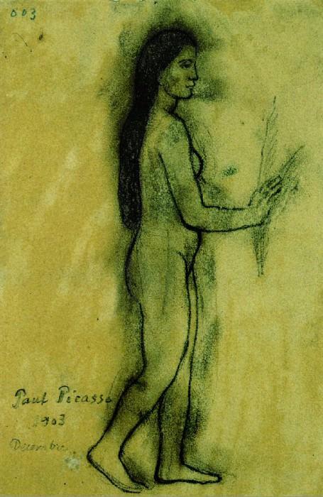1903 Hommage Е Gauguin. Пабло Пикассо (1881-1973) Период: 1889-1907