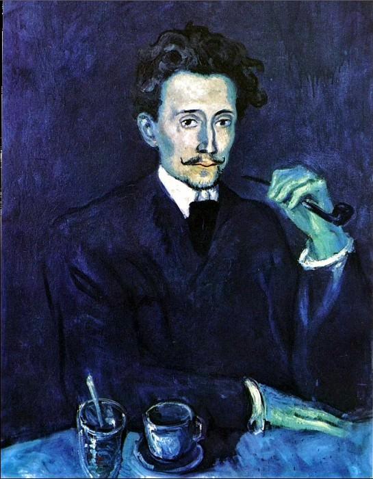 1903 Portrait du tailleur Soler. Pablo Picasso (1881-1973) Period of creation: 1889-1907