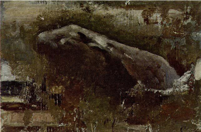 1898 La caverne. Pablo Picasso (1881-1973) Period of creation: 1889-1907