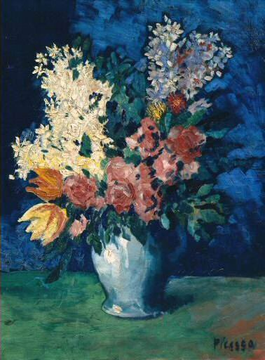 1901 Fleurs. Pablo Picasso (1881-1973) Period of creation: 1889-1907