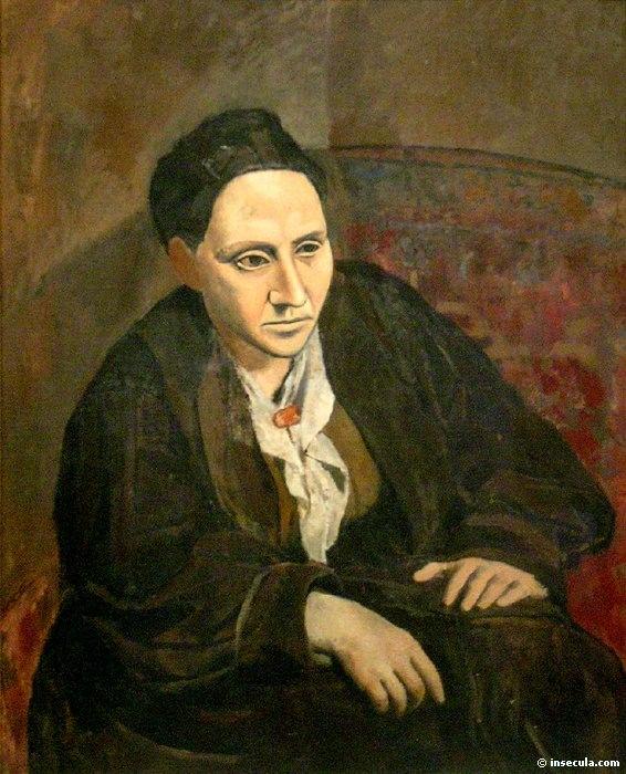 1906 Gertrude Stein. Pablo Picasso (1881-1973) Period of creation: 1889-1907