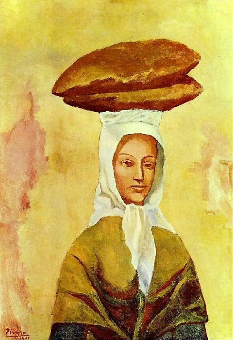 1906 La porteuse de pains. Пабло Пикассо (1881-1973) Период: 1889-1907