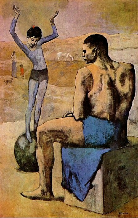 1904 Acrobate au ballon (Fillette au ballon). Pablo Picasso (1881-1973) Period of creation: 1889-1907