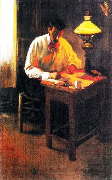 1899 Portrait de Josep Cardona. Pablo Picasso (1881-1973) Period of creation: 1889-1907