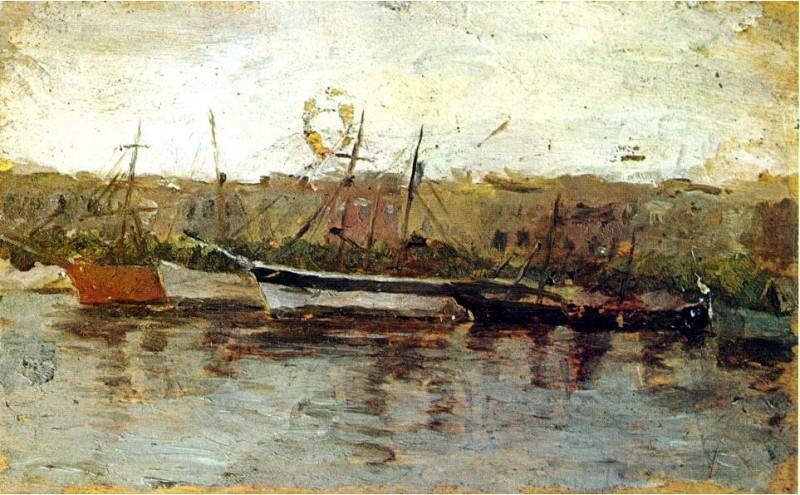 1895 Alicante vu du bateau. Pablo Picasso (1881-1973) Period of creation: 1889-1907