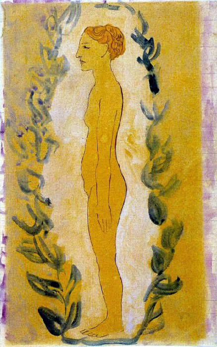 1906 Femme debout. Pablo Picasso (1881-1973) Period of creation: 1889-1907