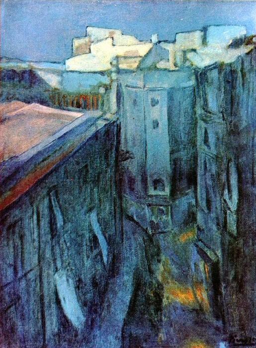 1903 Riera de Sant Joan Е laube. Pablo Picasso (1881-1973) Period of creation: 1889-1907